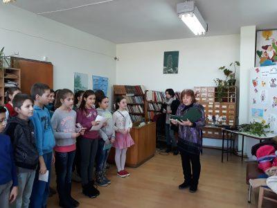 """СУ """"Николай Катранов"""" с програма в Градската библиотека"""