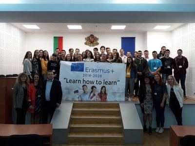 """СУ """"Димитър Благоев"""" – Свищов бе домакин на международна среща по проект от програма Еразъм +"""