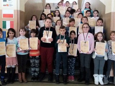 """Отлично представяне на учениците от СУ """"Николай Катранов"""" в националното състезание """"Моята родина"""""""