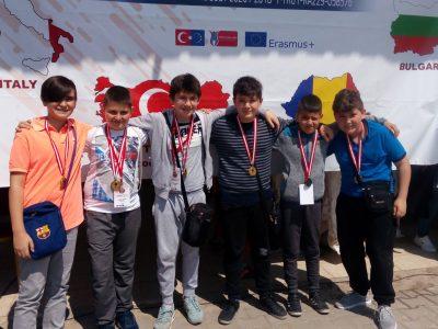 """Ученици и учители от СУ """"Николай Катранов"""" участваха в среща по програма """"Еразъм +"""" в град Адана, Турция"""