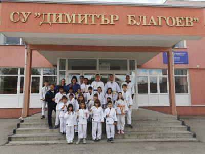 """СУ """"Димитър Благоев"""" първенец по джудо на ученическите игри"""