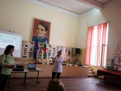 """В свищовското СУ """"Николай Катранов"""" гостува български учен от ЦЕРН"""