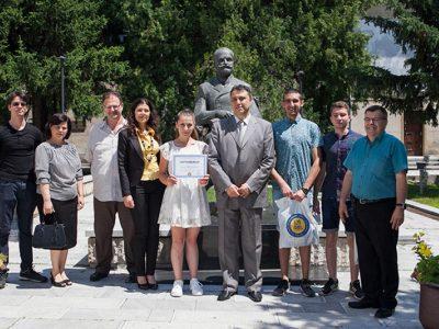 """Ученици от СУ """"Димитър Благоев"""" участваха в национален конкурс за ученическо есе"""