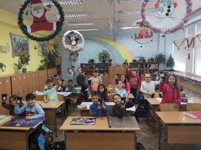 """СУ """"Димитър Благоев""""-гр. Свищов се включи в  кампанията на Гората.бг """"100 000 садим гора"""""""