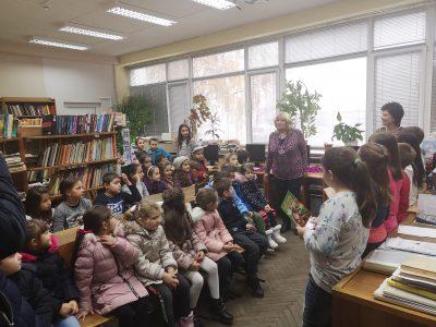 """Седмица на четенето в СУ """"Димитър Благоев"""" – гр.Свищов"""