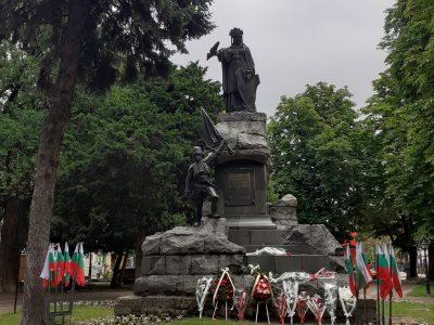 Поклон пред Ботев и загиналите за свободата на България в гр. Свищов