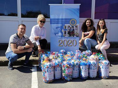 """Академичната общност в Свищов подпомогна инициативата """"Капачки за бъдеще"""""""