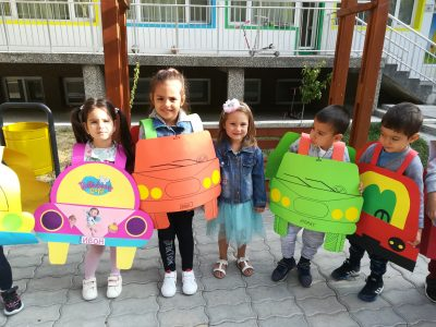 """В ДГ """" Чиполино"""" се проведоха обучаващи ситуации по БДП по Национален проект """" Заедно за всяко дете """""""