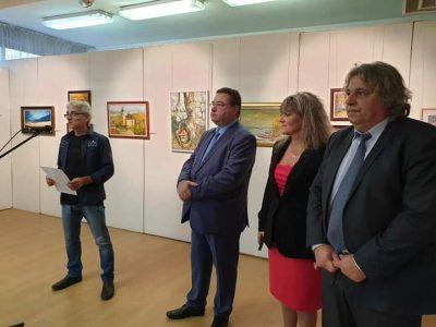 """В петък беше открита традиционната изложба на свищовските художници, част от """"Свищовски лозници 2020"""""""