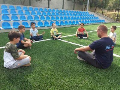 """През учебната 2019-2020 година в СУ """"Николай Катранов"""" бяха сформирани четири групи за занимания по интереси в областта на спорта"""