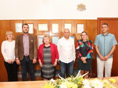 Председателят на Националното представителство на студентските съвети гостува в Свищовската академия