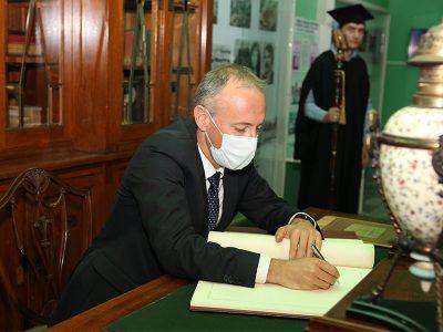 """Министърът на МОН откри новата учебна година в Стопанска академия """"Д. А. Ценов"""""""