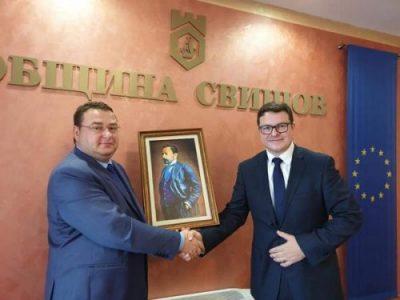 Посланикът на Великобритания в България на посещение в Свищов