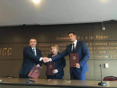 Kлъстер в областта на счетоводството и финансите учредиха Свищовската академия, УНСС – София и ИУ – Варна