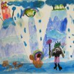"""Ученици от ОУ """"Филип Сакелариевич"""" взеха участие на състезанието """"Аз рисувам"""" на СБНУ"""