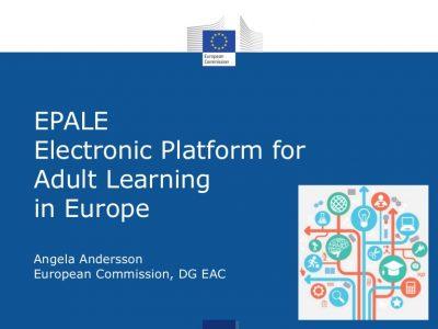 EPALE – Електронна платформа за учене на възрастни в Европа представи възможностите за включване