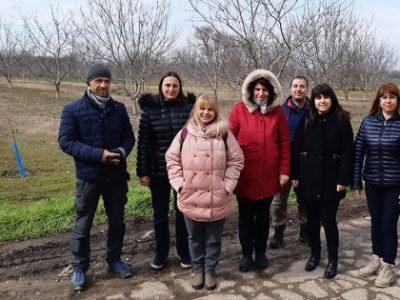 """Посещение на студенти от МП """"Агробизнес"""" в реална работна среда – 12.03.2021 г."""