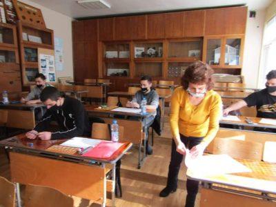 """За поредна учебна година в СПГ """"Алеко Константинов"""" се проведе училищен кръг на олимпиада по Техническо чертане"""