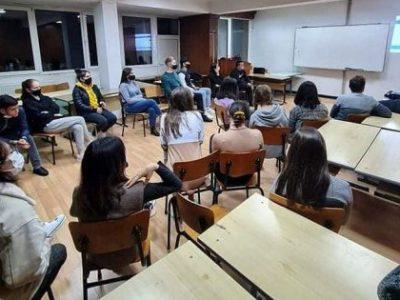 """СА """"Д. А. Ценов"""" посрещна студенти по програма """"Еразъм+"""" за летен семестър на учебната 2020/2021 г."""