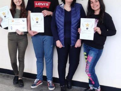 Поредни престижни награди за Радославовите ученици