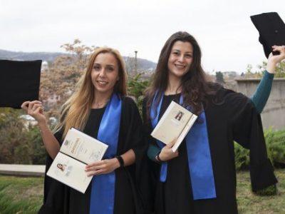 """ТЪРЖЕСТВЕНИ ЦЕРЕМОНИИ за връчване на дипломите за висше образование на абсолвентите, придобили ОКС """"бакалавър"""""""