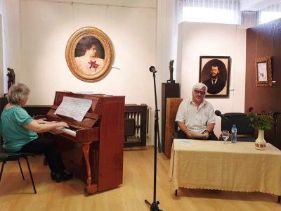 Мзикално-поетичния рецитал в Художествената галерия и среща с  поета Иван Антонов