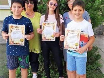 """Четвъртокласниците от СУ """"Николай Катранов"""", постигнали максимален резултат от 50 точки на НВО по БЕЛ"""
