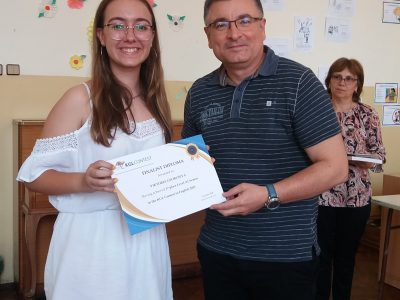 Първо място за Виктория Георгиева в състезанието на Кеймбридж училищата