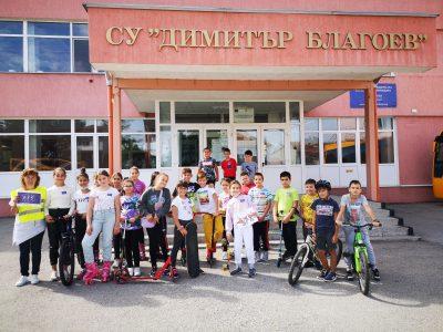 """Европейски ден на спорта в училище СУ """"Димитър Благоев"""" – гр. Свищов"""