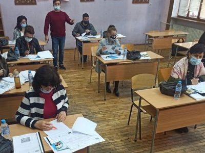 Учители по професионална подготовка от Търговската гимназия надграждат знания във връзка с дуалното обучение
